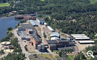 Stora Enso's Ingerois Mill, Finland. Фото © Storaenso.com