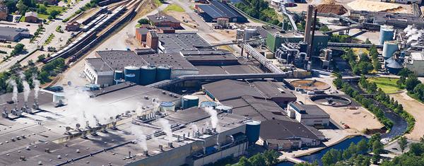 Hylte Mill. Фото © storaenso.com