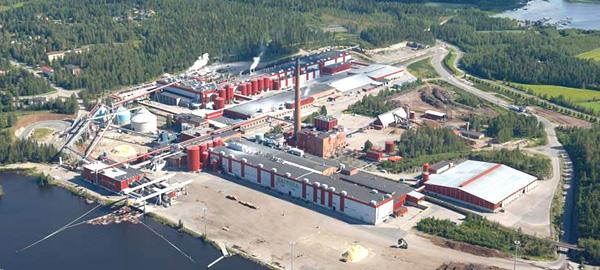 UPM Jämsä River Mills, Kaipola. Фото © upmpaper.com
