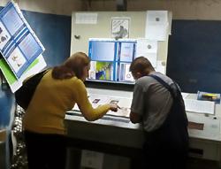 Тестирование глянцевой мелованной бумаги Омела 80 г/м2 в типографии «Верже-Ра»